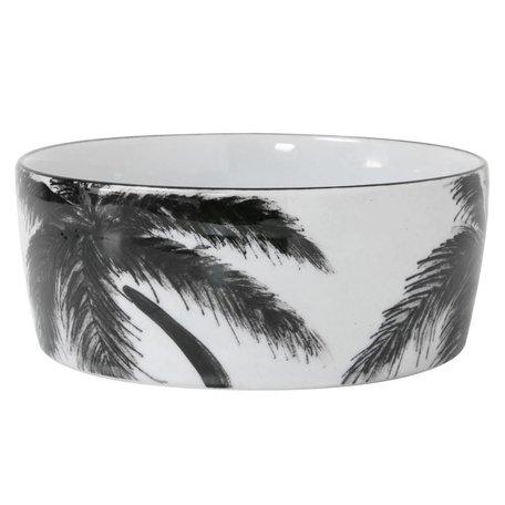 Porseleinen schaaltje palm 'jungle'