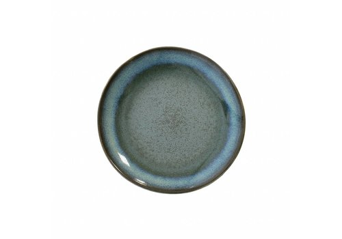 HKliving Teller 70's Keramik 'moss'