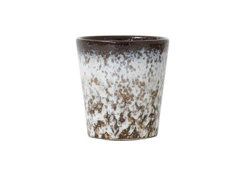 HKliving Tasse 70's Keramik 'mud'