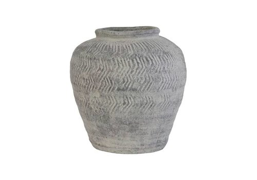 HKliving Zement Vase M