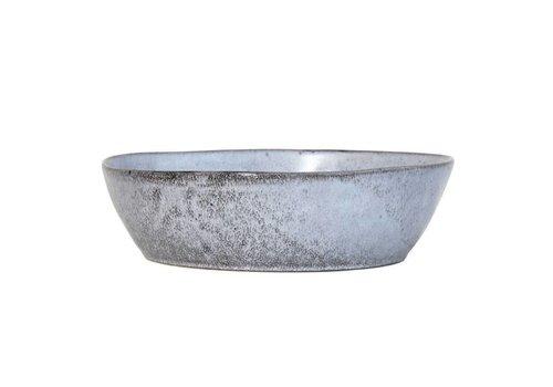 HKliving Keramikschale L rustikal grau