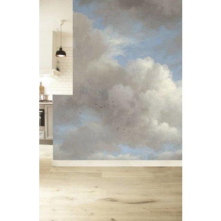 Fototapeten Golden Age Clouds 'Blue Sky'