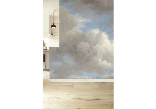 KEK Amsterdam Photo Wallpaper Golden Age Clouds 'Blue Sky'