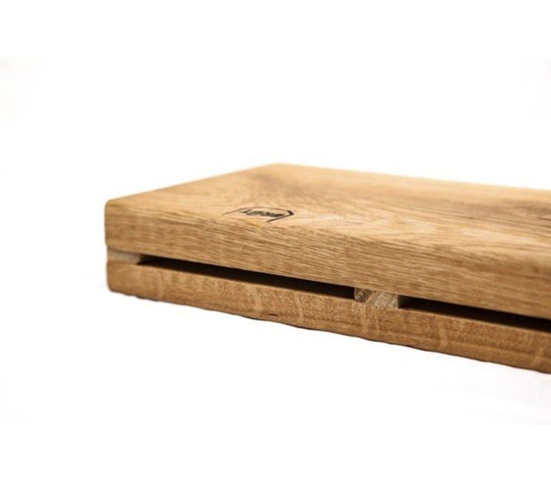 Brût Home Industrials Brût Amsterdam Messerleiste Holz 4x53x15cm