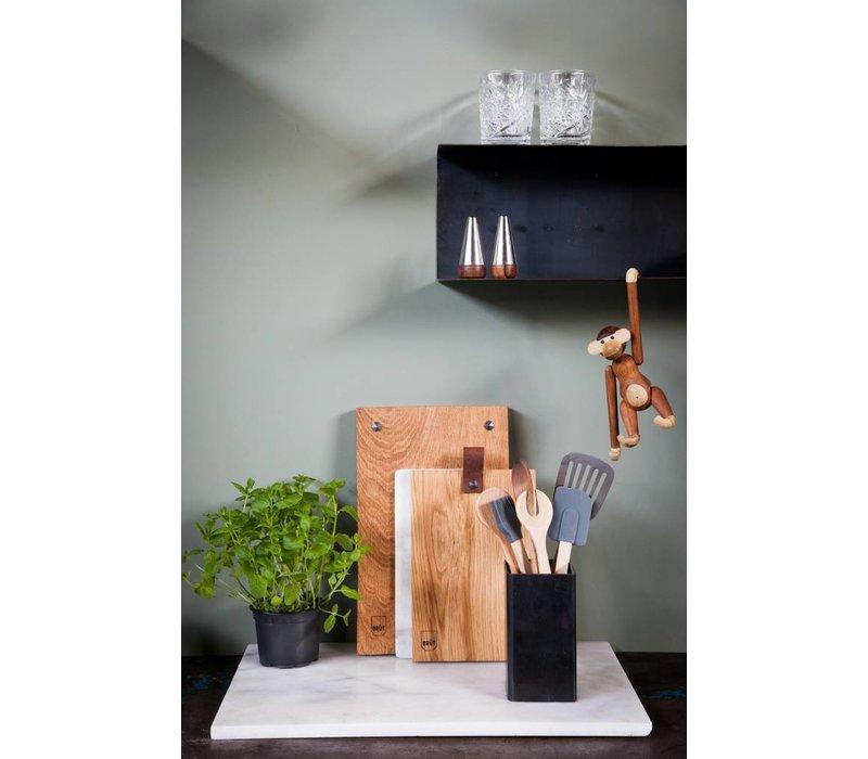 Brût Home Industrials Wandboard Stahl 90x20x20cm