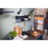 Brût Home Industrials Ofenhandschuhe Leder braun