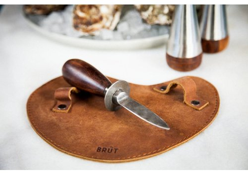 Brût Home Industrials Austernmesser mit Lederhandschuh
