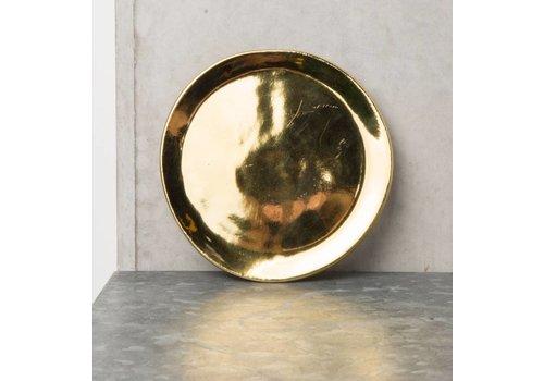 Urban Nature Culture Amsterdam Plate ceramics gold 14cm
