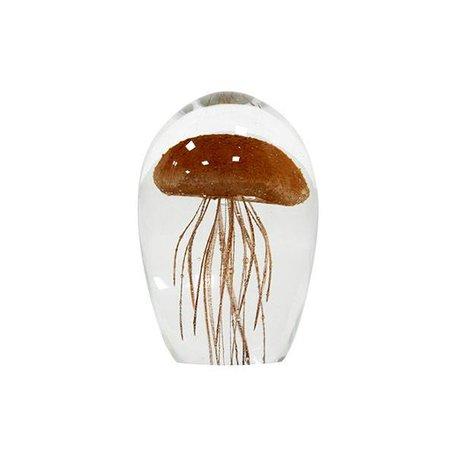 Kwal in glas koraal M
