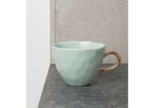 "Urban Nature Culture Amsterdam Tasse ""Good morning"" Celadon"