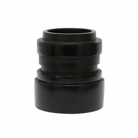 Vase Chulucanas S black