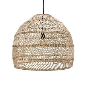 HKliving Hanging lamp wicker naturel - 60cm