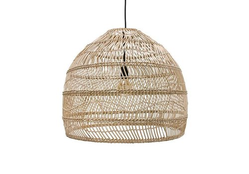 HKliving Hanging lamp wicker naturel - 60cm