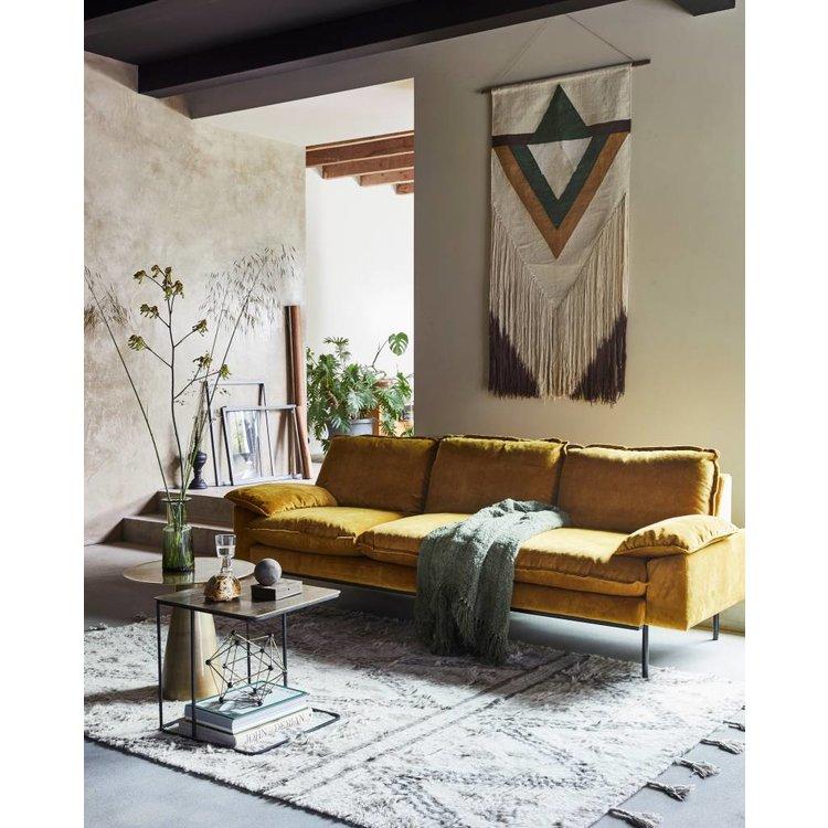 HKliving Beistelltisch Set Von 2 Metall Messing Orangehaus