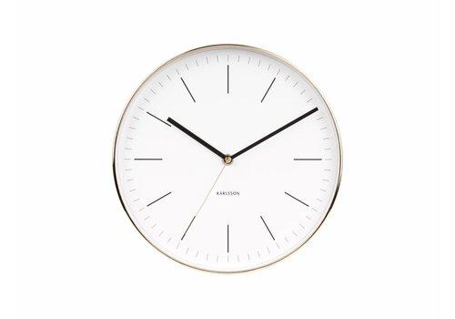 """Karlsson Wall clock """"Minimal"""" Ø27,5cm"""