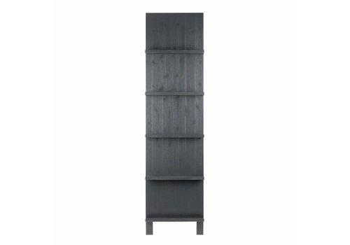 vtwonen Zeitschriftenaufsteller Holz schwarz