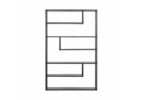 WOOOD Teun cabinet xl metal black 120cm