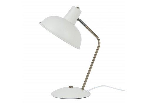Leitmotiv Tafellamp Hood mat wit