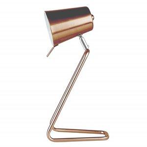 "Leitmotiv Table lamp ""Z"" copper"