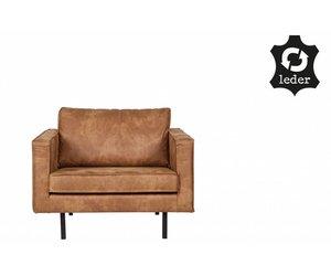 Loveseat sessel leder  BePureHome Sessel Rodeo recyceltes Leder cognac braun - Orangehaus