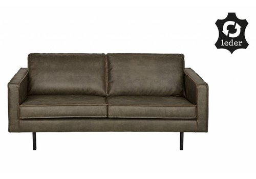 BePureHome Sofa 2,5 seater Rodeo recycle leather army green