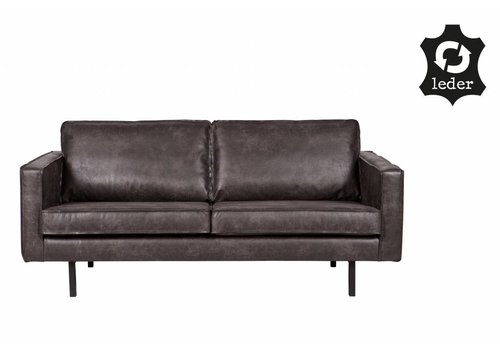 BePureHome Sofa 2,5 seater Rodeo recycle leather black