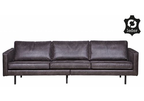BePureHome Sofa 3-seater Rodeo recycle leather black