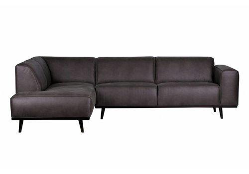 BePureHome Corner sofa Statement left gray