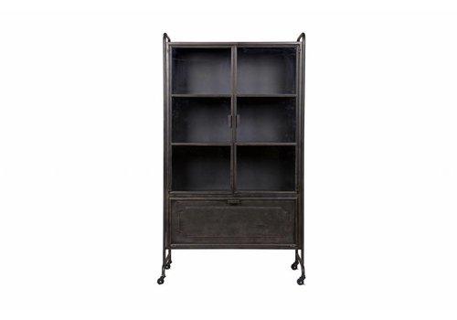 BePureHome Steel Storage Vitrine Metall schwarz