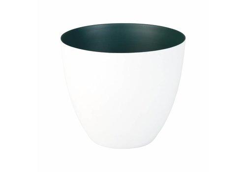 &Klevering Tealight holder Winter green Large