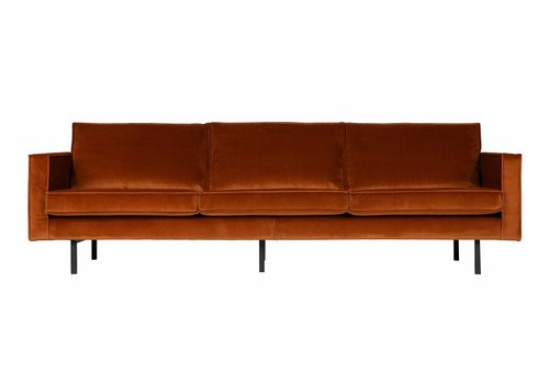 BePureHome Sofa 3-Sitzer-Rodeo samt Rost