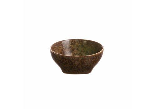 HKliving Bowl Kyoto brown ceramics