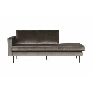 BePureHome Daybed Rodeo Links velvet taupe