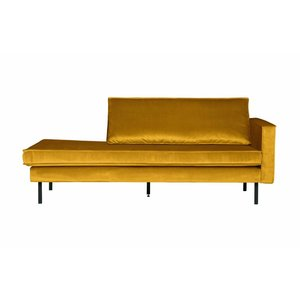 BePureHome Rodeo Daybed Right velvet ocher