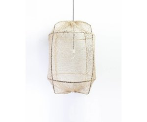 Ay Illuminate Lampen : Ay illuminate hanging lamp z black with sisal net orangehaus