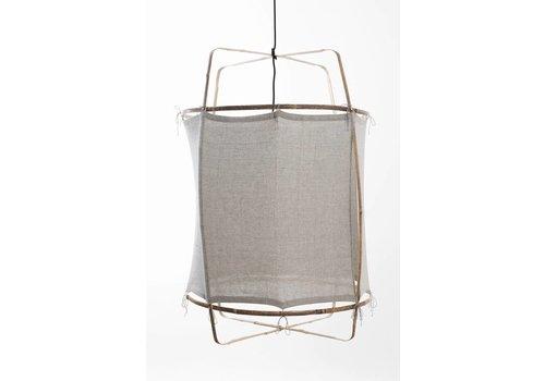 Ay illuminate Hanglamp Z2 Blond frame met recycle katoen cover