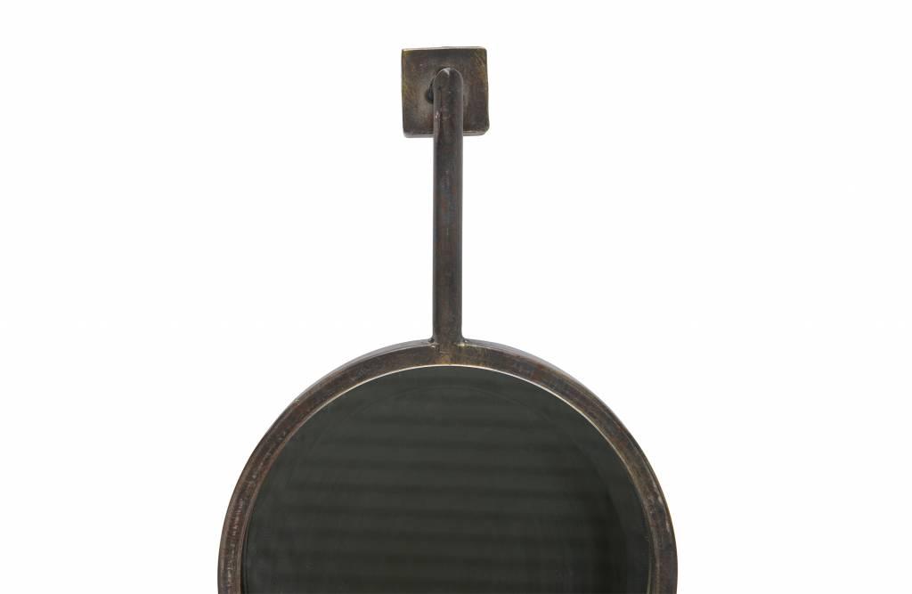 Spiegel Zwart Metaal : Bepurehome spiegel chain metaal zwart orangehaus