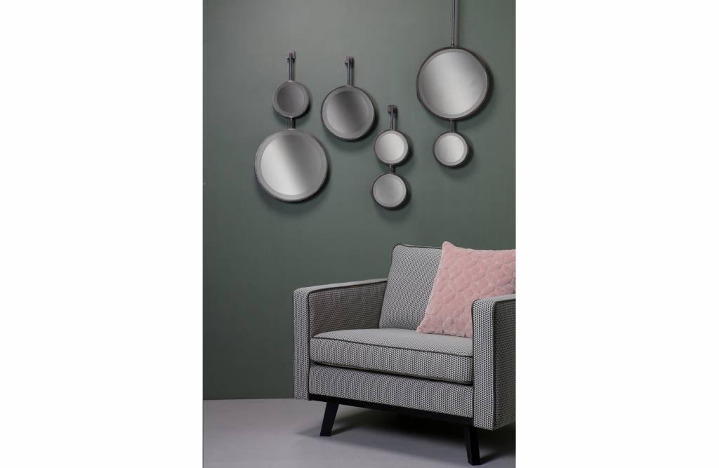 Spiegel Zwart Metaal : Bepurehome spiegel chain dubbel xl metaal zwart orangehaus