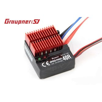 Graupner 40R snelheidsregelaar