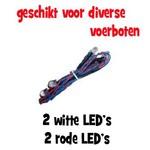 Voor en achter LED's (kabelboom)