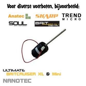 orginele motor 12 Volt (Skarp/ Trend Micro/ Soul/ Ultimate Baitcruiser & mini/ Atom/ Carponizer)