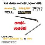 Combi voordeel antennes (voerboot en handzender)