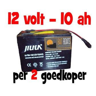 Accu voor de Baitcruiser MKII digital - 12v 10ah