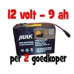 Accu voor de Baitcruiser MKII digital - 12v 9ah