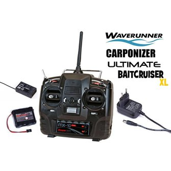 Upgrade set Graupner MX-10 voor de Ultimate Baitcruiser XL/ Waverunner/ Carponizer