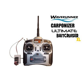 Upgrade set Spektrum DX5e voor de Ultimate Baitcruiser XL/ Waverunner/ Carponizer
