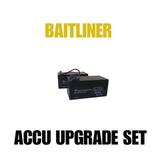 Baitliner accu upgrade set