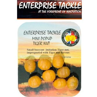 Enterprise Tackle Popup Mini tijgernoten (8 stuks)
