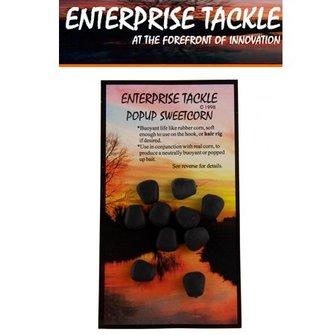 Enterprise Tackle Sweetcorn (Popup) black seafood (10 stuks)