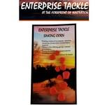 Enterprise Tackle Zinkende maïs korrels ROOD (10 stuks - 3 verschillende afmetingen)